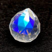 Feng Shui kristály - Crystal AB - 25x21mm