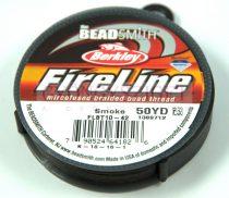 Berkley Fireline - smoke - gyöngyfűző szál - 0.2mm