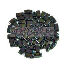 Miyuki féltila gyöngy - 454 - Metallic Dark Plum Iris - 2.5x5mm - 10g - AKCIOS