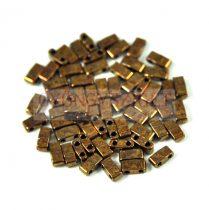 Miyuki féltila gyöngy - 457b - Metallic Dark Raspberry Iris (Bronze) - 2.5x5mm - 10g-AKCIOS