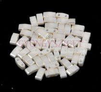 Miyuki féltila gyöngy - 592 - ceylon cream - 2.5x5mm - 10g-AKCIOS