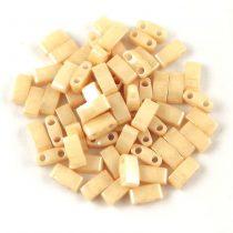 Miyuki féltila gyöngy - 593 - ceylon caramel - 2.5x5mm - 10g-AKCIOS