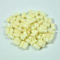 Miyuki Half Tila 2 Hole Japanese Seed Bead -2021 Matte Cream 2 5x5mm