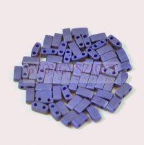 Miyuki Half Tila 2 Hole Japanese Seed Bead -2075 Matte Opaque Cobalt luster 2 5x5mm 10g