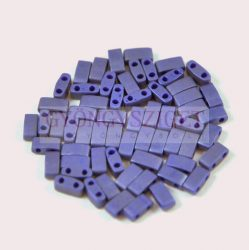 Miyuki féltila gyöngy - 2075 - Opaque Matte Cobalt Luster - 2.5x5mm - 10g-AKCIOS