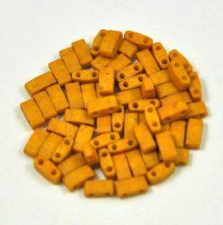 Miyuki féltila gyöngy - 2312 - matt telt mustár - 2.5x5mm