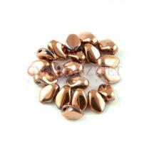 Gekko - cseh préselt szirom gyöngy - Crystal Capri Gold Full - 3x5mm