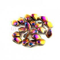 Gekko - cseh préselt szirom gyöngy - Crystal Sliperit Full - 3x5mm