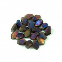 Gekko - Czech Pressed Petal Bead - Crystal Etched Sliperit Full - 3x5mm