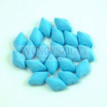 Gemduo cseh préselt üveggyöngy - Bondeli Matt Soft Blue - 5x8 mm