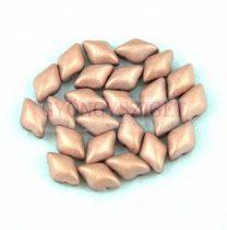 Gemduo cseh préselt üveggyöngy - Chocolate Apollo Matte - 5x8 mm