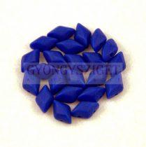 Gemduo cseh préselt üveggyöngy - Sapphire Matt - 5x8 mm