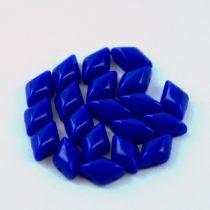 Gemduo cseh préselt üveggyöngy - Sapphire - 5x8 mm