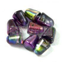 Gumdrop 7x10mm - kristály lila metál magic