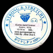 Gumis damil - 0,4mm - 13-14m