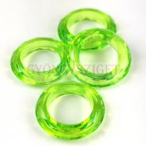 Műanyag gyűrű - Green - 20mm