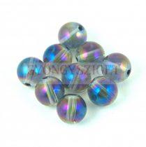 Hegyikristály - electroplated - 8mm