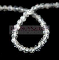 Hegyikristály gyöngy - roppantott - 4mm – szálon