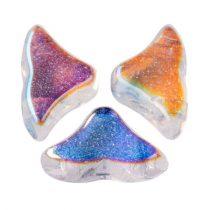 Hélios® par Puca®gyöngy - Crystal AB - 6x10 mm