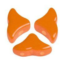 Hélios® par Puca®gyöngy - Opaque Apricot - 6x10 mm