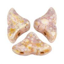 Hélios® par Puca®gyöngy - Opaque Mix Rose Gold Ceramic Look - 6x10 mm
