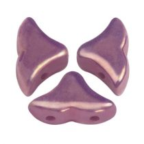 Hélios® par Puca®gyöngy - Opaque Mix Amethyst Gold Ceramic Look - 6x10 mm