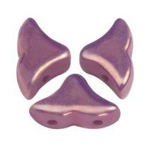 Hélios® par Puca®gyöngy - Opaque Mix Amethyst Gold Ceramic Look - 6x10 mm