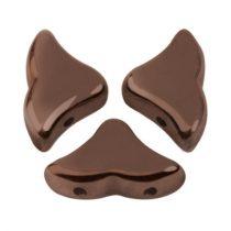 Hélios® par Puca®gyöngy - Dark Bronz - 6x10 mm