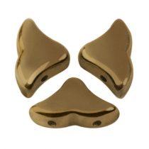 Hélios® par Puca®gyöngy - Golden Bronz - 6x10 mm
