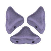 Hélios® par Puca®gyöngy - Matt Metallic Purple - 6x10 mm