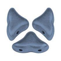 Hélios® par Puca®gyöngy - Matt Metallic Blue - 6x10 mm