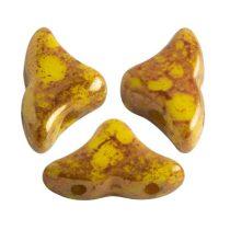 Hélios® par Puca®gyöngy - Opaque Jonquil Bronze - 6x10 mm