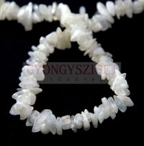 Holdkő gyöngy - splitter - szúrós - 5 - 7 mm - szálon