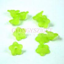 Harangvirág - zöld - 8x12mm