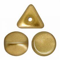 Ilos® par Puca®gyöngy - Light Gold Mat  - 5x5 mm
