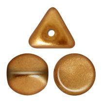 Ilos® par Puca®gyöngy - Bronze Gold Mat  - 5x5 mm
