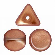 Ilos® par Puca®gyöngy - Matt Gold Copper - 5x5 mm