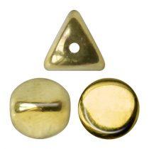 Ilos® par Puca®gyöngy - Crystal Full Dorado - 5x5 mm