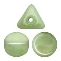 Ilos® par Puca®gyöngy - Opaque Light Green Ceramic Look - 5x5 mm