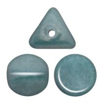 Ilos® par Puca®gyöngy - Opaque Blue Ceramic Look - 5x5 mm