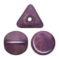 Ilos® par Puca®gyöngy - Opaque Mix Amethyst Gold Ceramic Look - 5x5 mm