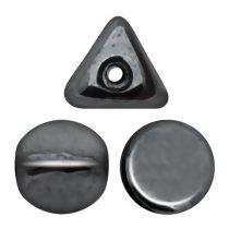 Ilos® par Puca®gyöngy - Jet Hematite- 5x5 mm