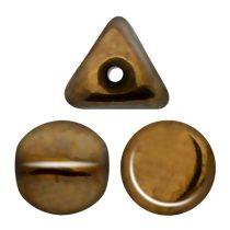 Ilos® par Puca®gyöngy - Golden Bronz - 5x5 mm