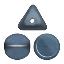 Ilos® par Puca®gyöngy - Matt Metallic Blue - 5x5 mm