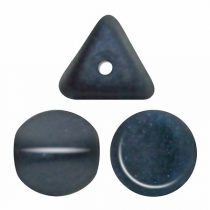 Ilos® par Puca®gyöngy - Matt Metallic Dark Blue - 5x5 mm