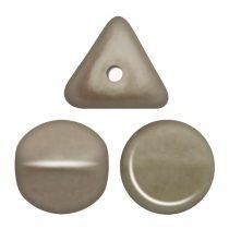 Ilos® par Puca®gyöngy - Matt Metallic Beige - 5x5 mm