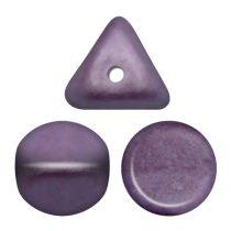Ilos® par Puca®gyöngy - Metallic Mat Dark Plum - 5x5 mm