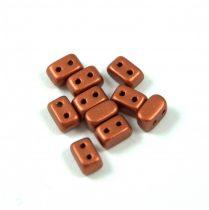 Ios® par Puca®gyöngy - matt rust - 5.5x2.5 mm