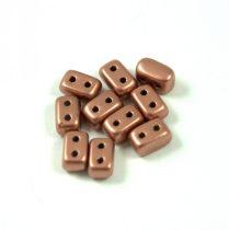 Ios® par Puca®gyöngy - matt copper - 5.5x2.5 mm
