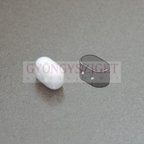Ios® par Puca®gyöngy - white - 5.5x2.5 mm